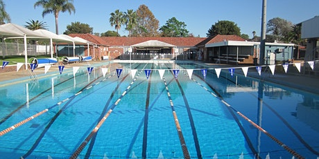 EAC Outdoor 50m Lap Swimming tickets