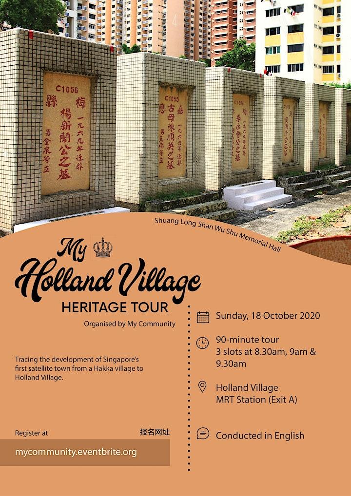 My Holland Village Heritage Tour [English] (18 October 2020) image