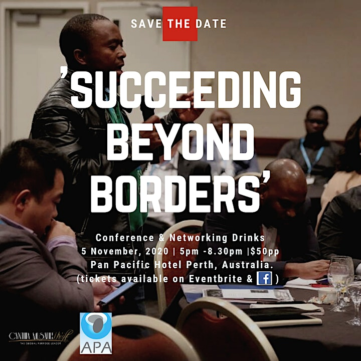 Succeeding Beyond Borders Conference & Networking Drinks image