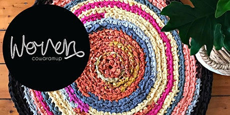 Rag Rug Workshop - 2 tickets