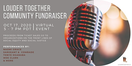 Louder Together Community Fundraiser tickets