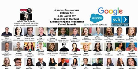Investing in Startups+Diversity Roundtable SVB Google Salesforce tickets