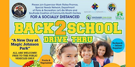 Back To School & Healthy Groceries Drive Thru Giveaway tickets
