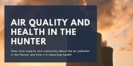Air Quality and Health in the Hunter tickets
