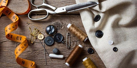 Repairworks Online Zoom Workshop - Clothing Repair Basics tickets