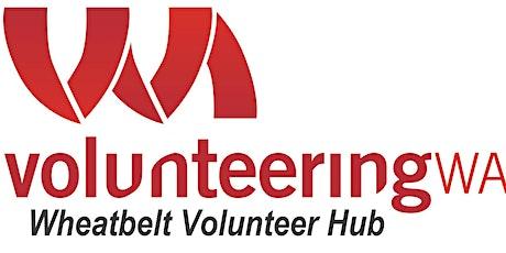 Developing Volunteer Engagement Plans - Mundaring tickets