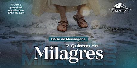 7 Quintas de Milagres | 01/10/2020 às 20h ingressos