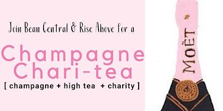 Bean Central & Rise Above: Champagne Chari-tea - high tea fundraiser tickets