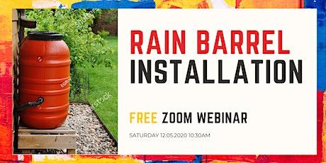 Rain Barrel Webinar by City of LA Stormwater Program tickets