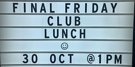 FINAL FRIDAY CLUB - West Perth Client Lunch tickets