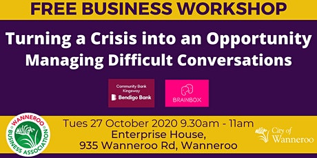 Business Workshop - Turning a Crisis into an Opportunity tickets