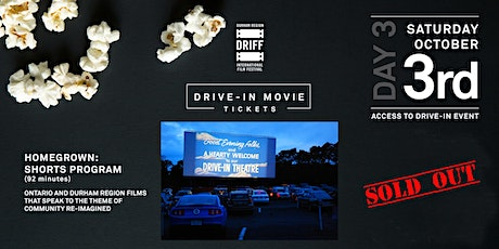 DRIFF Closing Night Drive-In Screening and Awards tickets