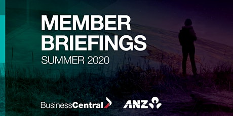 Member Briefing  Summer 2020 - Gisborne tickets