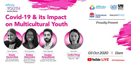 Covid-19 & its Impact on Multicultural Youth tickets