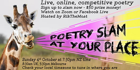 Poetry Slam at Your Place tickets