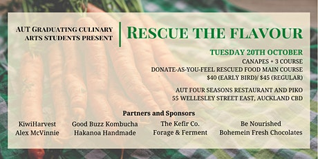 Rescue the Flavour tickets