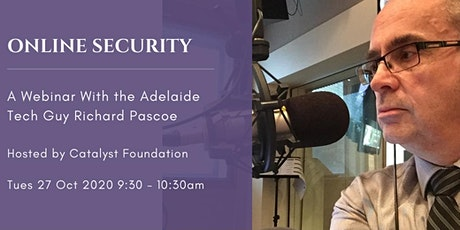 Online Security with Richard Pascoe tickets
