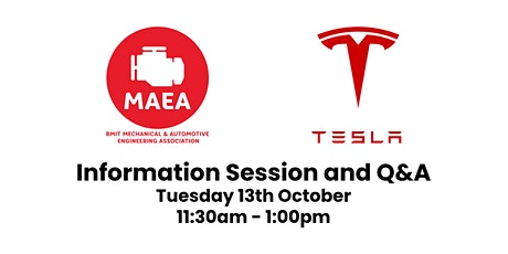 Tesla Information Session and Q&A tickets