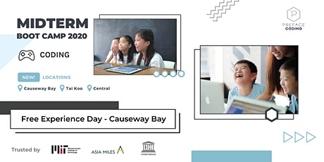 2020 OCT Midterm Coding Camp Experience Day | Causeway Bay | Preface Coding tickets
