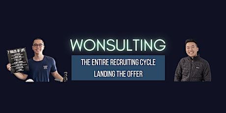 Wonsulting Online Course: The Entire Recruiting Cycle, Landing the Offer tickets
