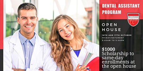 In-person & Virtual Open House - Dental Assistant Program tickets