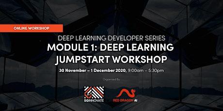 Deep Learning Jumpstart Workshop (30 November – 1 December 2020) tickets