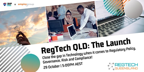 RegTech QLD: The Launch tickets