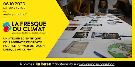 Atelier La Fresque du Climat par Clément Chevalier billets