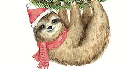 Xmas Sloth - Plucka's Art Studio (Dec 13 1.30pm) tickets