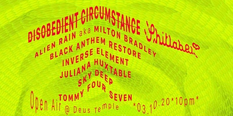 Disobedient Circumstance x Sh!tlabel / Open Air Tickets