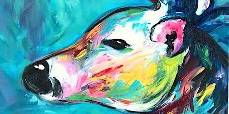 Xmas Deer - Plucka's Art Studio (Dec 20 1.30pm) tickets