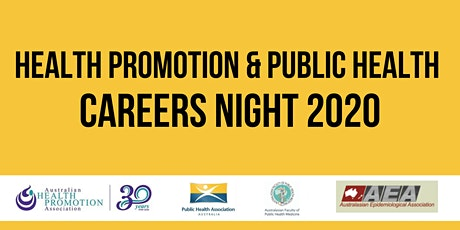 Health Promotion & Public Health Careers Night 2020 tickets
