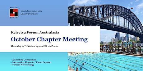 Keiretsu Forum Australasia - October Chapter Meeting tickets