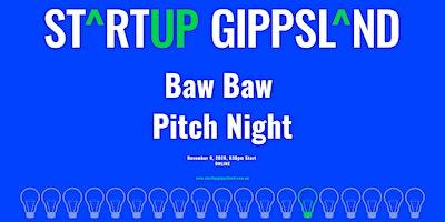 Startup Gippsland – Baw Baw Pitch Night