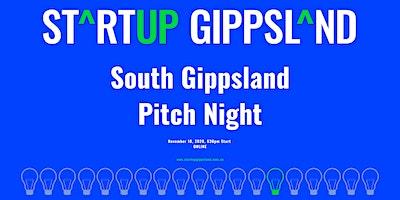 Startup Gippsland – South Gippsland Pitch Night
