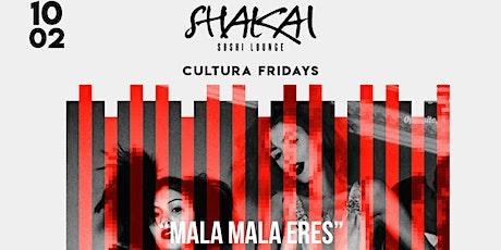 Cultura Fridays tickets