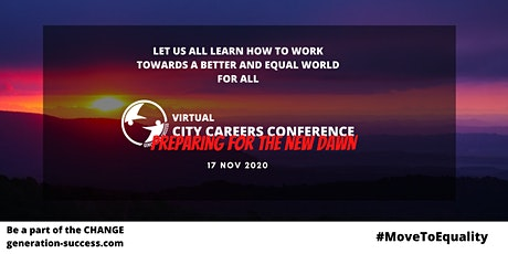 Virtual City Career's Conference - Preparing for the new dawn tickets