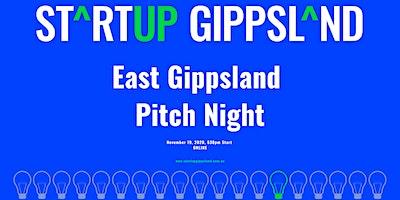 Startup Gippsland – East Gippsland Pitch Night