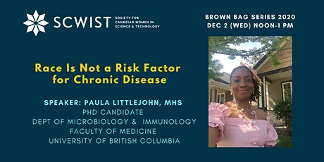 Race Is Not a Risk Factor for Chronic Disease tickets