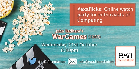 #exaflicks: WarGames. 21Oct20 tickets