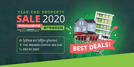 Year-End Property Sale EXPO 2020 tickets