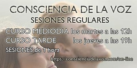 CONSCIENCIA DE LA VOZ: clases regulares tickets