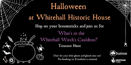 """What's in the Whitehall Witch's Cauldron?"" Treasure Hunt. tickets"