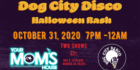 Dog City Disco Halloween Bash (Late Show) tickets