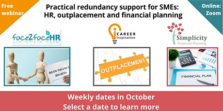 Practical redundancy support for SMEs: HR Outplacement & Financial Planning tickets