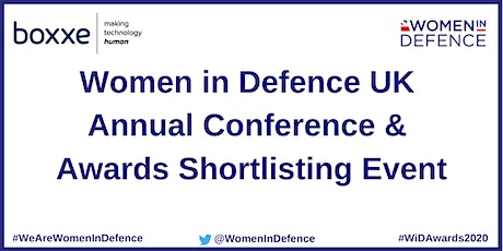 Women in Defence UK Annual Conference & Awards Shortlisting Event tickets