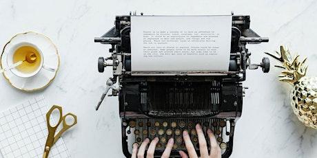 WORKSHOP - Scrittura Efficace: dalla prima stesura alla pubblicazione tickets