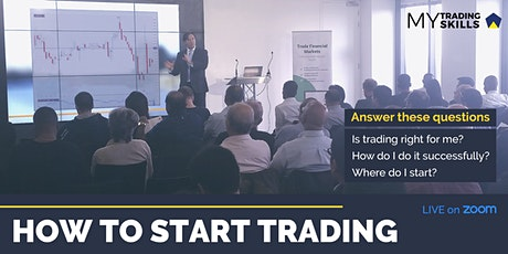 How to Start Trading - Zoom Workshop + Pack tickets