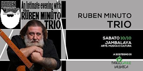 Ruben Minuto Trio @ Jambalaya biglietti
