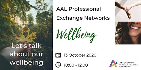 AAL Professional Exchange Networks - Wellbeing tickets
